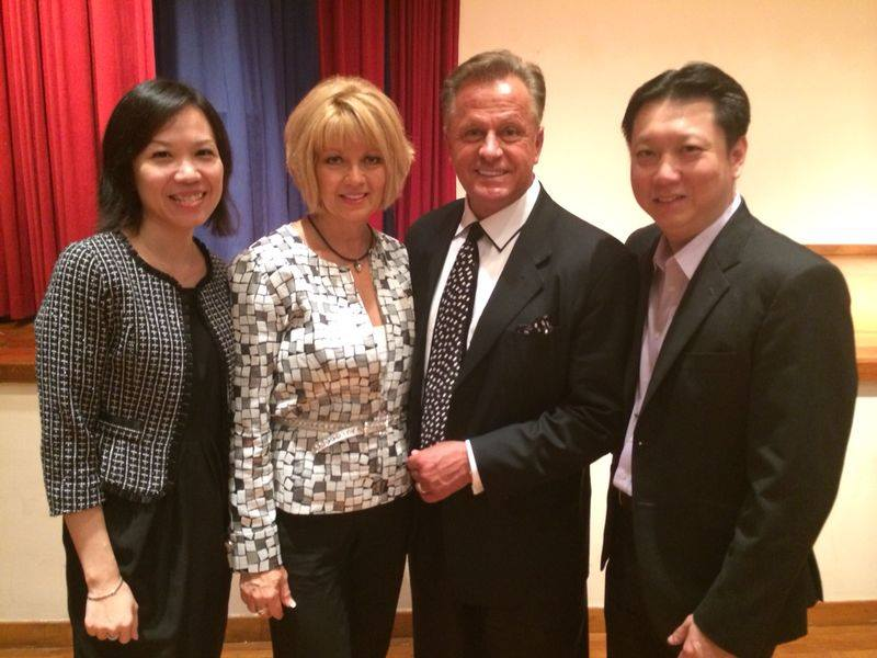 HMG Team - Brad Hager, Marcia Hager, Moon Loh, James Yap