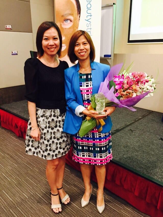 Moon Loh and Brenda Huang